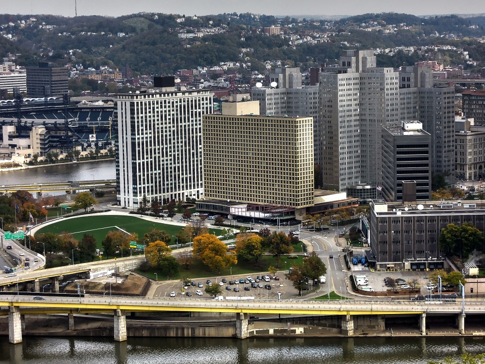 Downtown Pittsburgh Skyline and Allegheny River